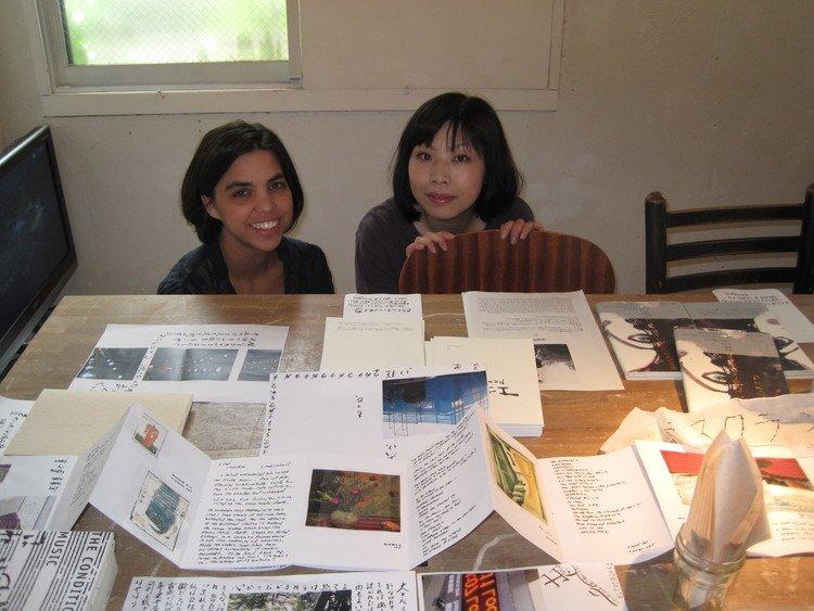 Yuka Tsukagoshi and Judy Halebsky
